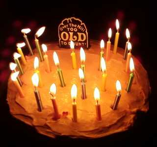 only 24 candles